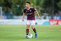 Victor Aliaga Verdu of NK Triglav Kranj during Football match between NK Triglav Kranj and NK Rudar Velenje in Round #3 of Prva liga Telekom Slovenije 2019/20, on July 27, 2019 in Sports park Kranj, Kranj, Slovenia. Photo by Ziga Zupan / Sportida
