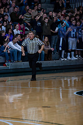 26 January 2013: Tri-Valley Vikings v Ridgeview Mustangs in Championship game, Final Round McLean County Tournament at Shirk Center in Bloomington Illinois