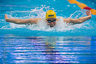 Hansson Louise SWE<br /> Swimming - Women's 100m butterfly preliminary <br /> XXXV LEN European Aquatic Championships<br /> Duna Arena<br /> Budapest  - Hungary  17/5/2021<br /> Photo Giorgio Perottino / Deepbluemedia / Insidefoto