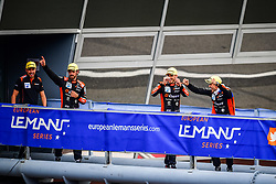 May 13, 2018 - Monza, Italie - 26 G DRIVE RACING (RUS) ORECA 07 GIBSON LMP2 ROMAN RUSINOV (RUS) ANDREA PIZZITOLA (FRA) JEAN ERIC VERGNE (FRA) WINNER LMP2 (Credit Image: © Panoramic via ZUMA Press)