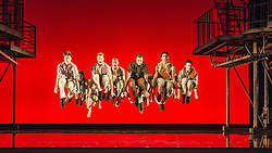 "© Licensed to London News Pictures. 07/08/2013. ""WEST SIDE STORY"" returns to Sadler's Wells Theatre from Wednesday 7 August - Sunday 22 September 2013. This production is directed and choreographed by Joey McKneely using the full original Jerome Robbins choreography.  Photo credit: Tony Nandi/LNP"