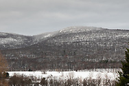 A view of  Schunnemunk Mountain on the morning after a snowstorm in Cornwall, N.Y., on Dec. 5, 2019.