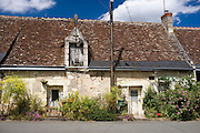 Traditional French cottage at Rivarennes, Loire Valley, France