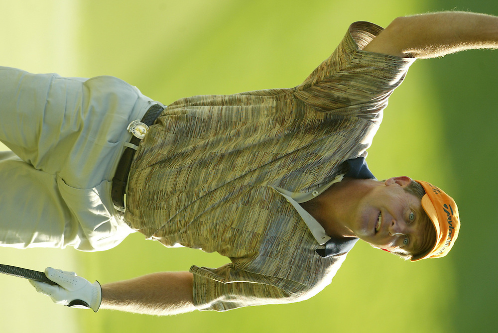 Fred Funk..2003 PGA Championship..First Round..Oak Hill CC..Rochester, NY..Thursday, August 14  2003..photograph by Darren Carroll