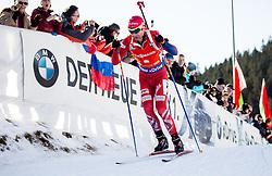 Ole Einar Bjoerndalen (NOR) during Men 12,5 km Pursuit at day 3 of IBU Biathlon World Cup 2015/16 Pokljuka, on December 19, 2015 in Rudno polje, Pokljuka, Slovenia. Photo by Vid Ponikvar / Sportida