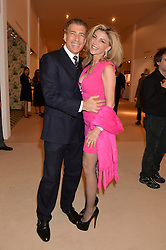 LISA TCHENGUIZ and STEVE VORSARI at the Masterpiece Marie Curie Party supported by Jeager-LeCoultre held at the South Grounds of The Royal Hospital Chelsea, London on 30th June 2014.