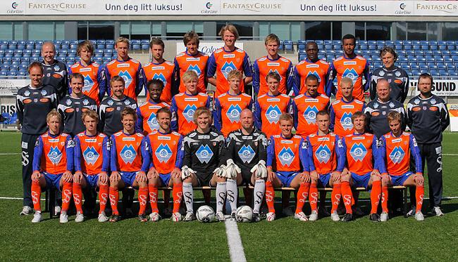 Lagbilde Aalesunds FK. <br /> Foto: Svein Ove Ekornesvåg