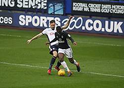 Dorian Dervite of Bolton Wanderers (L) tackles Ryan Sessegnon of Fulham - Mandatory by-line: Jack Phillips/JMP - 10/02/2018 - FOOTBALL - Macron Stadium - Bolton, England - Bolton Wanderers v Fulham - English Football League Championship