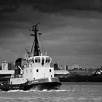 One of the local tugs owned by Smit.  Naturally this one is called Liverpool.