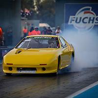Mick Farrell's (3558) Mazda RX7 in Super Competition at the Perth Motorplex.