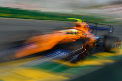 March 16, 2019 - Melbourne, Victoria, Australia - Lando Norris (4) of Great Britain drives the McLaren F1 Team MCL34 during qualifying for the Australian Formula 1 Grand Prix at Albert Park on March 16, 2019 in Melbourne, Australia  (Credit Image: © Morgan Hancock/NurPhoto via ZUMA Press)