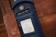 Public call box, London, England