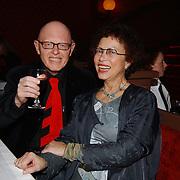 Kerstborrel Princess 2004, Joop Stokkermans en vrouw Dallea Balfour van Burleigh
