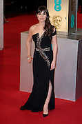 Feb 8, 2015 - EE British Academy Film Awards 2015 - Red Carpet Arrivals at Royal Opera House<br /> <br /> Pictured: Charlotte Riley<br /> ©Exclusivepix Media