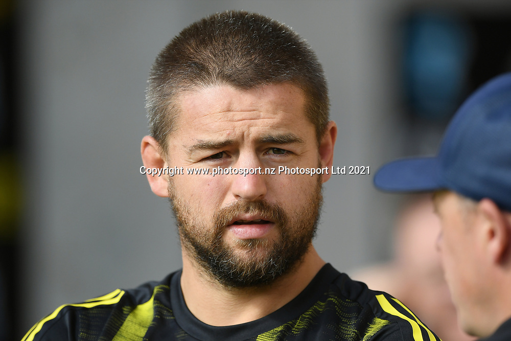 Hurricanes Dane Coles before the Super Rugby match, Hurricanes v Crusaders, Sky Stadium, Wellington, Sunday, April 11, 2021. Copyright photo: Kerry Marshall / www.photosport.nz