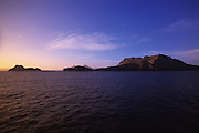 Sunset, Mangareva, Gambier Islands, French Polynesia<br />