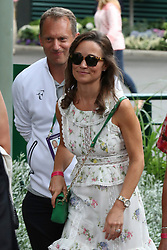 Pippa Middleton and celebrities leaving The All England Club in London after the men's finals. 16 Jul 2017 Pictured: Pippa Middleton. Photo credit: MEGA TheMegaAgency.com +1 888 505 6342