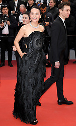 Virginie Ledoyen attending the Pain and Glory premiere, held at the Grand Theatre Lumiere during the 72nd Cannes Film Festival