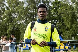 June 6, 2017 - Helsingborg, SVERIGE - 170606 Joel Asoro efter en trÅning med U21-landslaget i fotboll den 6 juni 2017 i Helsingborg  (Credit Image: © Ludvig Thunman/Bildbyran via ZUMA Wire)