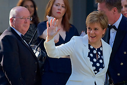 Nicola Sturgeon attending a charity event Organised by The Hunter Foundation. Former US president Barack Obama will address business leaders and take part in a Q&A at the Edinburgh International Conference Centre. 26th May 2017, (c) Brian Anderson | Edinburgh Elite media