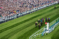 National Hunt Horse Racing - 2017 Randox Grand National Festival - Saturday, Day Three [Grand National Day]<br /> <br /> R.M. Power on Finian's Oscar wins in the 2nd race the 2.25 the Betway Mersey Novices' Hurdle  at Aintree Racecourse.<br /> <br /> COLORSPORT/WINSTON BYNORTH