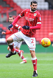 Eros Pisano of Bristol City - Mandatory by-line: Nizaam Jones/JMP - 17/03/2018 - FOOTBALL - Ashton Gate Stadium- Bristol, England - Bristol City v Ipswich Town - Sky Bet Championship