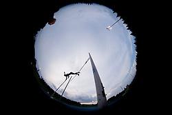 Tina Sutej of Slovenia competing in Pole Vault during athletics competition 8th Memorial of Matic Sustersic and Patrik Cvetan July 13, 2013 in Stadium ZAK, Ljubljana, Slovenia. Maribor defeated Zavrc 2-1. (Photo by Vid Ponikvar / Sportida.com)