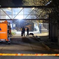 Kristiansand  20161205.<br /> Politiet jobber på Wilds Minne Skole der to personer tidligere på dagen ble knivstukket og døde av skadene senere.<br /> Foto: Tor Erik Schrøder / NTB scanpix
