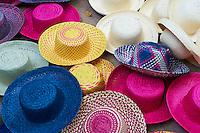 Mexique, Etat de Campeche, chapeaux Panama // Mexico, Campeche state, Panama hat