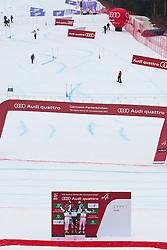18.02.2011, Kandahar, Garmisch Partenkirchen, GER, FIS Alpin Ski WM 2011, GAP, Herren, Riesenslalom, im Bild Winners presentation v.l. silber Medaille Cyprien Richard (FRA), Gold Medaille und Weltmeister Ted Ligety (USA) und bronze Medaille Philipp Schoerghofer (AUT) // Winners presentation v.l. silver medal Cyprien Richard (FRA) and Gold Medal and World Champion Ted Ligety (USA) an bronze Medal Philipp Schoerghofer (AUT), during men's Giant Slalom Fis Alpine Ski World Championships in Garmisch Partenkirchen, Germany on 18/2/2011. EXPA Pictures © 2011, PhotoCredit: EXPA/ J. Groder
