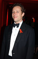 """TOBY ROWLANDS at the 10th annual British Red Cross London Ball.  This years ball theme was Indian based - """"Yaksha - Yakshi: Doorkeepers to the Divine"""" and was held at The Room, Upper Ground, London on 1st December 2004.  Proceeds from the ball will aid vital humanitarian work, including HIV/AIDS projects that the Red Cross supports in the UK and overseas.<br /><br />NON EXCLUSIVE - WORLD RIGHTS"""