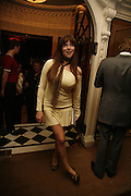 Abi Titmuss, Dirty Dancing ,premiere: Aldwych Theatre, 49 Aldwych, London, WC2,24 October 2006. -DO NOT ARCHIVE-© Copyright Photograph by Dafydd Jones 66 Stockwell Park Rd. London SW9 0DA Tel 020 7733 0108 www.dafjones.com