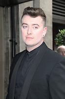 Sam Smith, Ivor Novello Awards, Grosvenor House Hotel, London UK, 22 May 2014, Photo by Richard Goldschmidt