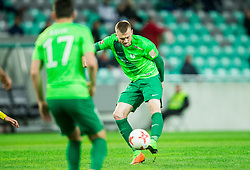 Alexandru Cretu of NK Olimpija during football match between NK Olimpija Ljubljana and NK Kalcer Radomlje in Round #29 of Prva liga Telekom Slovenije 2016/17, on April 17, 2017 in SRC Stozice, Ljubljana, Slovenia. Photo by Vid Ponikvar / Sportida