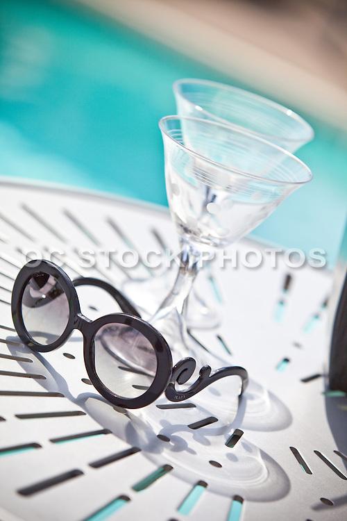 Orange County Lifestyle At Poolside