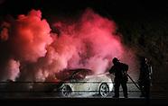 Limerick Township Car Fire