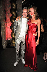 PATRICK COX and HEATHER KERZNER at The Love Ball hosted by Natalia Vodianova and Lucy Yeomans to raise funds for The Naked Heart Foundation held at The Round House, Chalk Farm, London on 23rd February 2010.