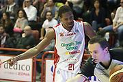 DESCRIZIONE : Campionato 2014/15 Giorgio Tesi Group Pistoia - Umana Reyer Venezia<br /> GIOCATORE : Hall Langston<br /> CATEGORIA : Delusione Arbitro Referee<br /> SQUADRA : Giorgio Tesi Group Pistoia<br /> EVENTO : LegaBasket Serie A Beko 2014/2015<br /> GARA : Giorgio Tesi Group Pistoia - Umana Reyer Venezia<br /> DATA : 14/03/2015<br /> SPORT : Pallacanestro <br /> AUTORE : Agenzia Ciamillo-Castoria/S.D'Errico<br /> Galleria : LegaBasket Serie A Beko 2014/2015<br /> Fotonotizia : Campionato 2014/15 Giorgio Tesi Group Pistoia - Umana Reyer Venezia<br /> Predefinita :