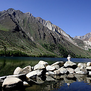 Convict Lake near Mammoth Lakes, California is one of the Eastern Sierra's prized lakes.