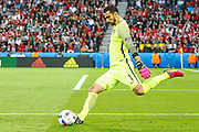 Rui Patricio of Portugal, during the match against Austria, valid for the European Championship Group F 2016 in the Parc des Princes stadium in Paris on Saturday 18. The game ended 0 to 0.