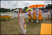 ALEXA CHUNG, 2004 Veuve Clicquot Gold Cup Final at Cowdray Park Polo Club, Midhurst. 20 July 2014