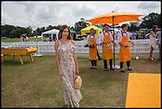 ALEXA CHUNG, 2004 Veuve Clicquot Gold Cup Final at Cowdray Park Polo Club, Midhurst. 20 July 2014