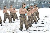 Children Get Trained On Snow