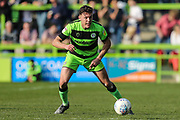 Forest Green Rovers Paul Digby(20) on the ball during the EFL Sky Bet League 2 match between Forest Green Rovers and Milton Keynes Dons at the New Lawn, Forest Green, United Kingdom on 30 March 2019.