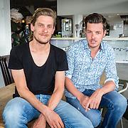 NLD/Amsterdam/20160626 - KPN presenteert nieuwe sportprogramma's, Filemon Wesselink en Thijs Zonneveld