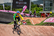 #21 (REYNOLDS Lauren) AUS at the 2016 UCI BMX World Championships in Medellin, Colombia.