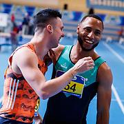 NLD/Apeldoorn/20180217 - NK Indoor Athletiek 2018, Joris van Gool en Christopher Garia