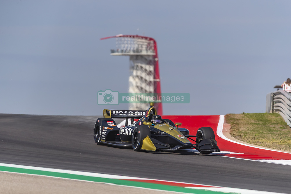 March 22, 2019 - Austin, Texas, U.S. - MARCUS ERICSSON (R) (7) of Sweeden  goes through the turns during practice for the INDYCAR Classic at Circuit Of The Americas in Austin, Texas. (Credit Image: © Walter G Arce Sr Asp Inc/ASP)