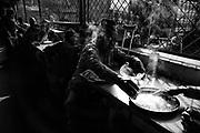 It's the time for morning food/ breakfast. Kathmandu, Nepal.