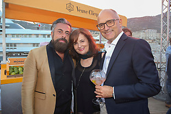 Ildo Damiani and friends attending the Tag-Heuer Under Pressure Award event as part of the 75th Monaco F1 Grand Prix, Monaco on May 27, 2017. Photo by Marco Piovanotto/ABACAPRESS.COM